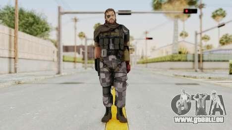 MGSV The Phantom Pain Venom Snake Scarf v7 pour GTA San Andreas deuxième écran