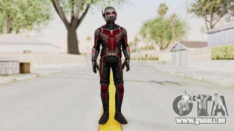 Captain America Civil War - Ant-Man pour GTA San Andreas deuxième écran