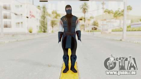 Mortal Kombat X Klassic Sub Zero v2 für GTA San Andreas zweiten Screenshot