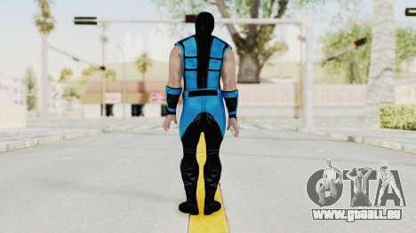 Mortal Kombat X Klassic Sub Zero UMK3 v1 pour GTA San Andreas troisième écran