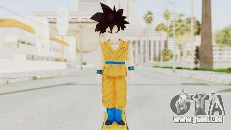 Dragon Ball Xenoverse Gohan Teen DBS SJ v2 pour GTA San Andreas deuxième écran