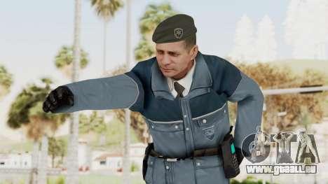 Bourne Conspirancy Zurich Police v2 für GTA San Andreas