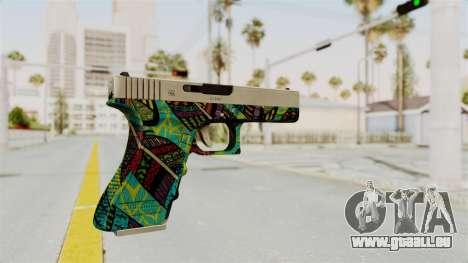 Glock 18C für GTA San Andreas zweiten Screenshot