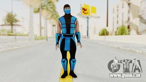 Mortal Kombat X Klassic Sub Zero UMK3 v1 pour GTA San Andreas deuxième écran