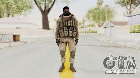 COD MW2 Shadow Company Soldier 3 pour GTA San Andreas deuxième écran