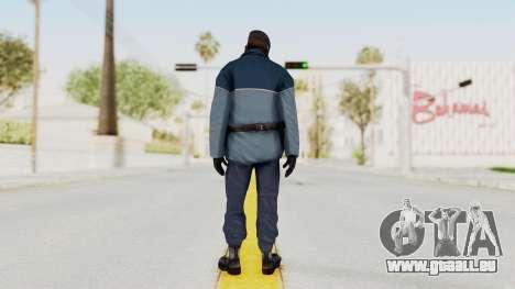 Bourne Conspirancy Zurich Police v2 pour GTA San Andreas troisième écran