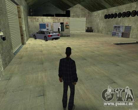 L'intérieur de la STO San Fierro pour GTA San Andreas deuxième écran