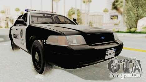 Ford Crown Victoria SFPD für GTA San Andreas rechten Ansicht