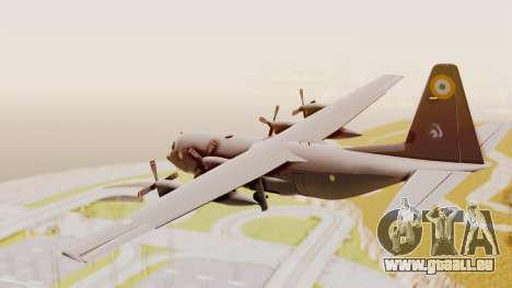 C130 Hercules Indian Air Force für GTA San Andreas rechten Ansicht