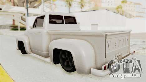 GTA 5 Slamvan Stock für GTA San Andreas linke Ansicht