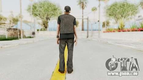 Alan Wake - Tor Anderson pour GTA San Andreas troisième écran