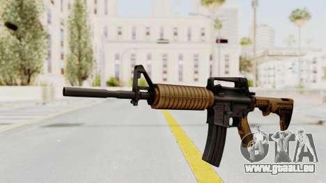 HD M4 v2 für GTA San Andreas