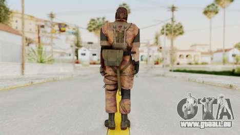 MGSV The Phantom Pain Venom Snake Golden Tiger für GTA San Andreas dritten Screenshot
