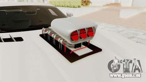 Mercedes-Benz SLS AMG 2010 Monster Truck für GTA San Andreas Rückansicht