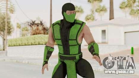 Mortal Kombat X Klassic Human Reptile für GTA San Andreas