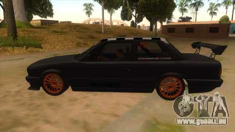 BMW 325i Turbo für GTA San Andreas linke Ansicht