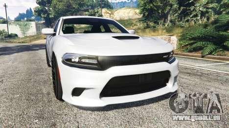 Dodge Charger SRT Hellcat 2015 v1.3 pour GTA 5