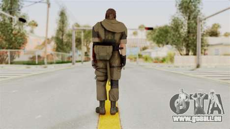MGSV The Phantom Pain Venom Snake Scarf v1 für GTA San Andreas dritten Screenshot