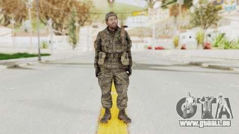 COD BO SOG Woods v1 für GTA San Andreas zweiten Screenshot