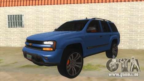 Chevrolet TrailBlazer für GTA San Andreas