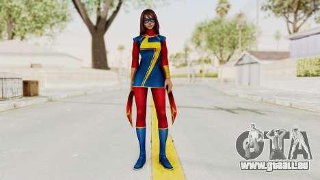 Marvel Future Fight - Kamala Khan pour GTA San Andreas deuxième écran