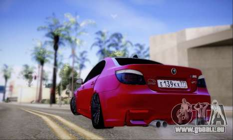 BMW M5 E60 Huracan für GTA San Andreas rechten Ansicht