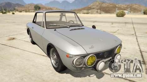 Lancia Fulvia pour GTA 5