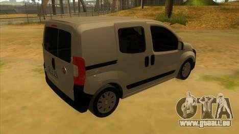 Fiat Fiorino Combi Mix pour GTA San Andreas vue de droite