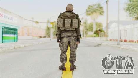 COD BO SOG Hudson v1 pour GTA San Andreas troisième écran