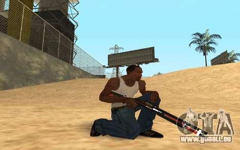 Shotgun Cyrex pour GTA San Andreas cinquième écran