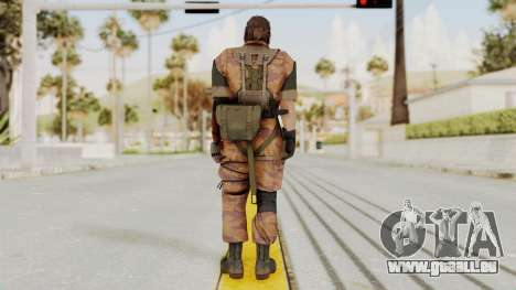 MGSV The Phantom Pain Venom Snake No Eyepatch v5 pour GTA San Andreas troisième écran