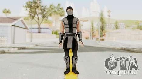 Mortal Kombat X Klassic Human Smoke pour GTA San Andreas deuxième écran
