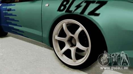 Toyota Celica GT Drift Falken für GTA San Andreas Rückansicht