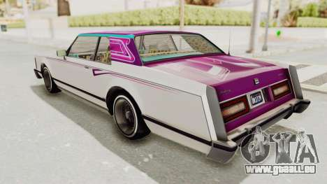 GTA 5 Dundreary Virgo Classic Custom v2 pour GTA San Andreas roue