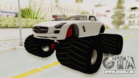 Mercedes-Benz SLS AMG 2010 Monster Truck pour GTA San Andreas