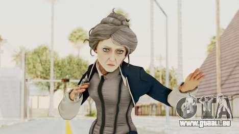 Bioshock Infinite Elizabeth Old für GTA San Andreas