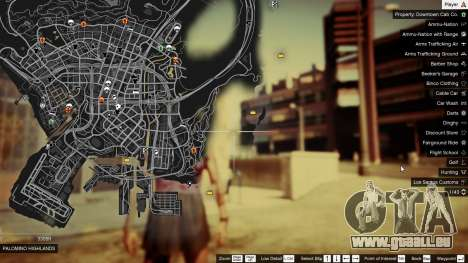 GTA 5 Treasure Map V