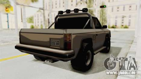 Rancher Style Bronco für GTA San Andreas zurück linke Ansicht