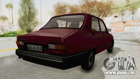 Dacia 1310L 1997 pour GTA San Andreas laissé vue