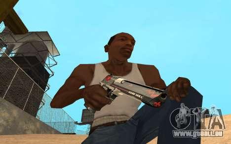 Desert Eagle Cyrex für GTA San Andreas zweiten Screenshot