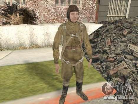 Pak Kämpfer der roten Armee für GTA San Andreas