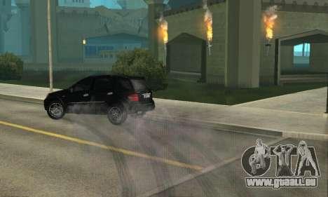 Mercedes-Benz ML 63 AMG für GTA San Andreas Innenansicht