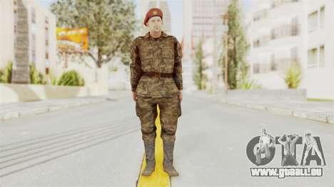 MGSV The Phantom Pain Soviet Union Commander pour GTA San Andreas deuxième écran