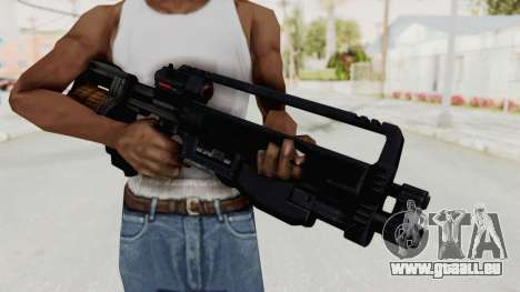 StA-52 Assault Rifle für GTA San Andreas dritten Screenshot