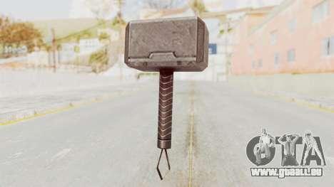 Marvel Future Fight - Mjolnir für GTA San Andreas dritten Screenshot