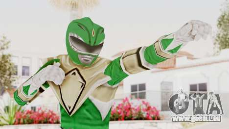 Mighty Morphin Power Rangers - Green pour GTA San Andreas
