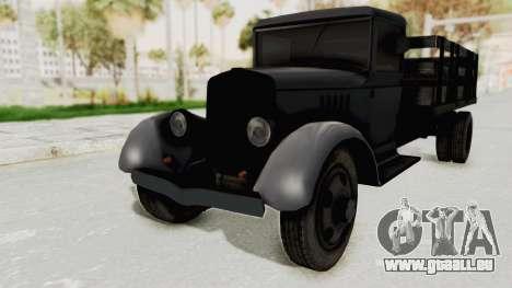 Ford AA from Mafia 2 pour GTA San Andreas vue de droite