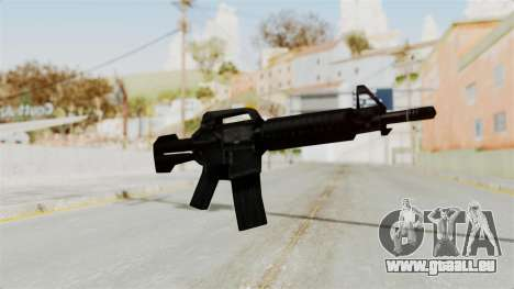 Liberty City Stories M4 für GTA San Andreas zweiten Screenshot