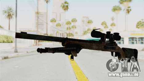 M24 Sniper Ghost Warrior für GTA San Andreas zweiten Screenshot