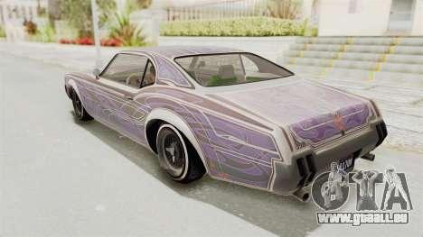 GTA 5 Declasse Sabre GT2 IVF pour GTA San Andreas